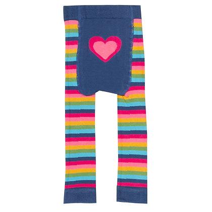 KITE Stripy Heart Knit Leggings