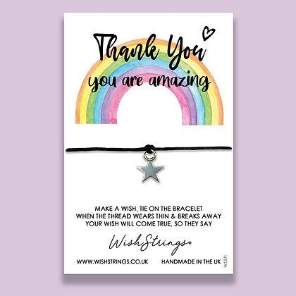Thank You, Rainbow WishString