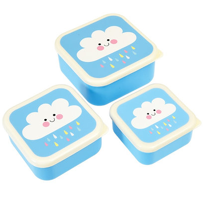 Happy Cloud 3 Pack Lunch Box's
