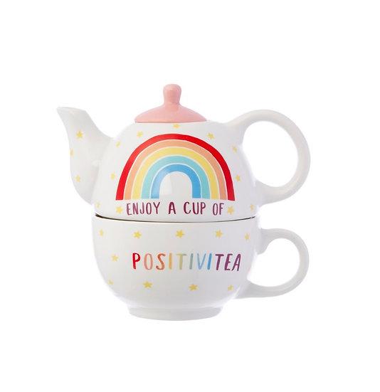 Rainbow Positivitea Tea For One