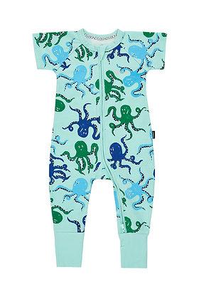 BONDS Shimmy Shimmy Octopus  Short Sleeve Wondersuit