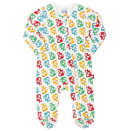 KITE Rainbow Fox Zippy Sleepsuit