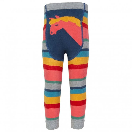Pony Rainbow Knit Leggings