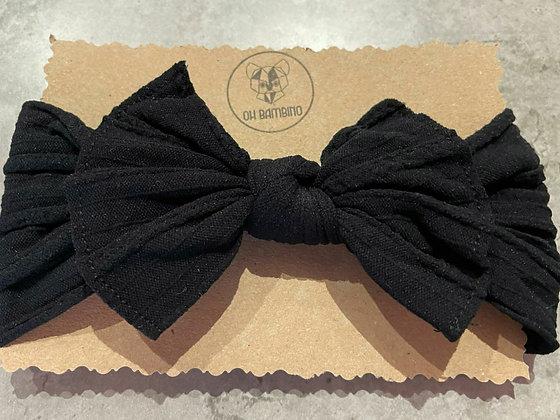 Stretchy Baby Bow Headband - Starry Night