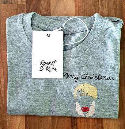 Rocket & Rose 'Filthy Animal' Grey Kids T Shirt