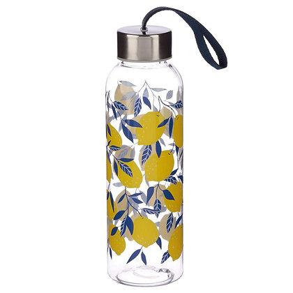 Amalfi Lemon 500ml Reusable Water Bottle