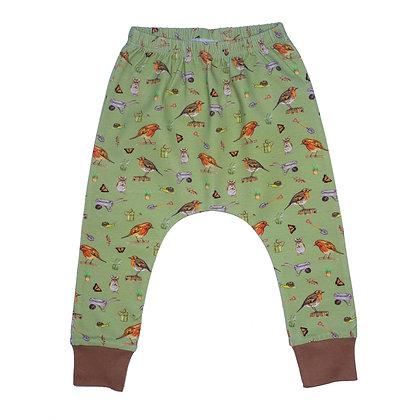 JECO 'Little Robin' Olive Harem Pant