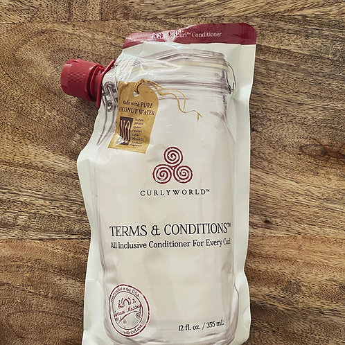 Terms and conditions conditioner (après shampoo)