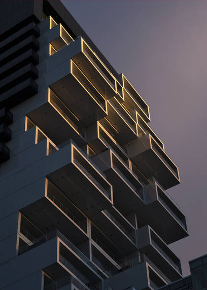 River City 3, Saucier + Perrotte Architects with ZAS Architects