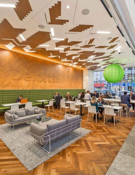 Deloitte Cafe Interior, Toronto