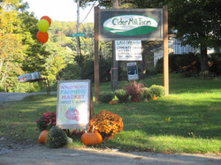 Entrance to Cider Hill Farm