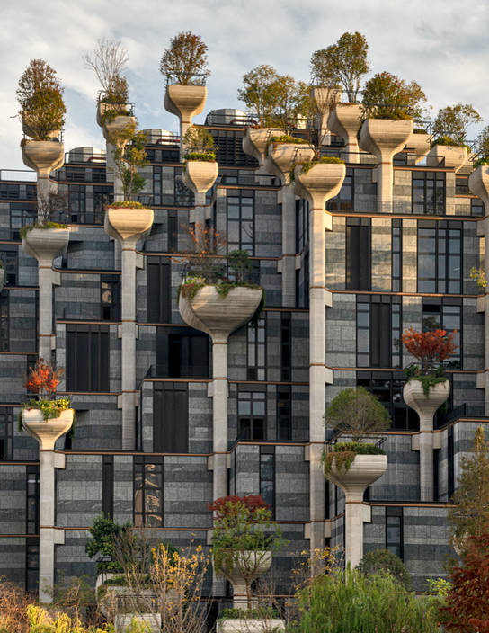 1000 Trees, Heatherwick Studio