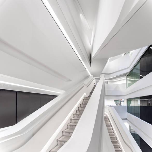 Jockey Club Innovation Tower Interior