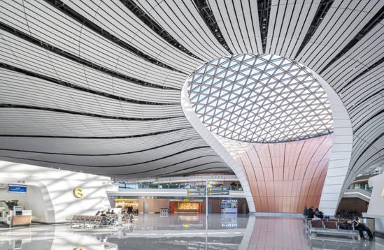 Daxing International Airport, Zaha Hadid Architects