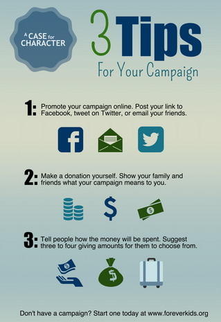 3 Tips for Your Campaign