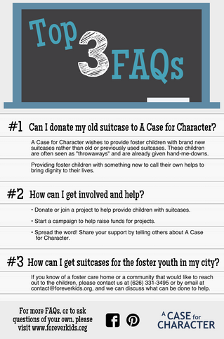 Top 3 FAQ's