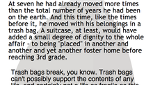 "Trash Bags - An Excerpt from ""The Child I Didn't Adopt"""