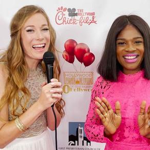 Holywood Network's Tiffany Roney Salerno Interviews Actress Edwina Findley