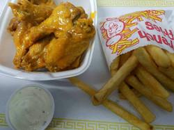 Buffalo Chicken Wings Combo