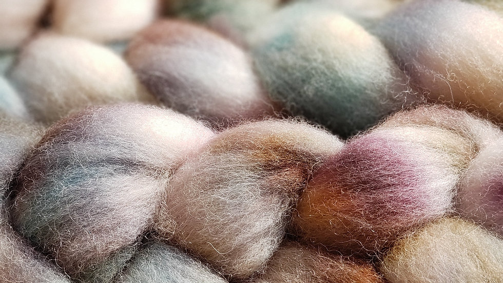 Painter's Palette - Cheviot Roving 4 oz