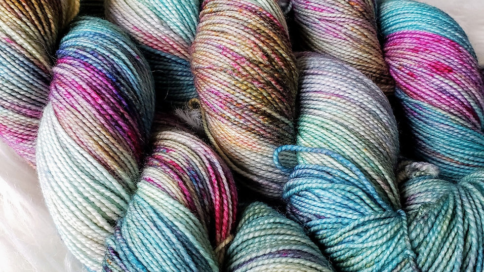 Europa OOAK on Color Sock