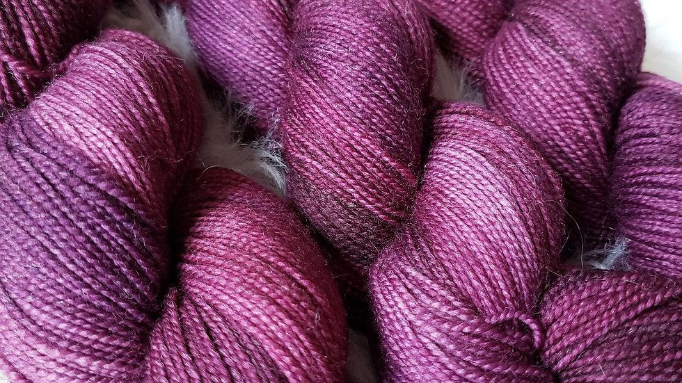 Spiced Wine on Color Sparkle Sock