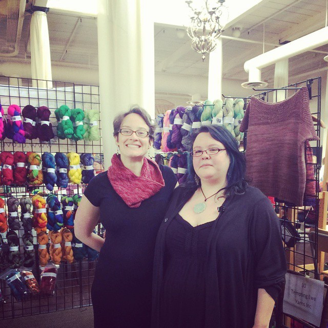 Homespun yarn party 2015, thanks to ever