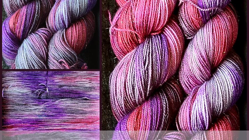 Silvervine Sparkle Sock