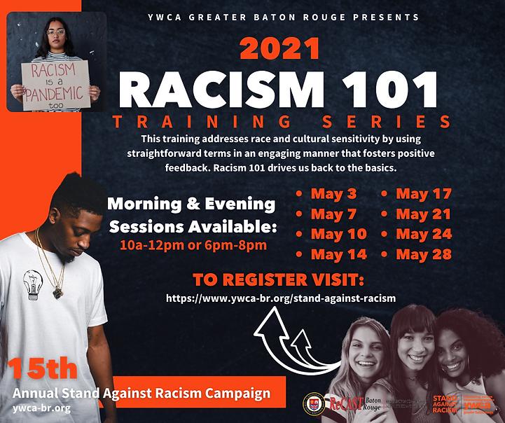 YWCA GBR Racism 101 Training Series Grap
