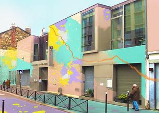 Bibliothèque Louise Michel, Jeanne Varaldi @ADAGP