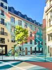 Rue de la Jussienne, digital painting, 2020