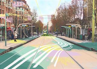 Boulevard Sévèrine, Jeanne Varaldi @ADAGP