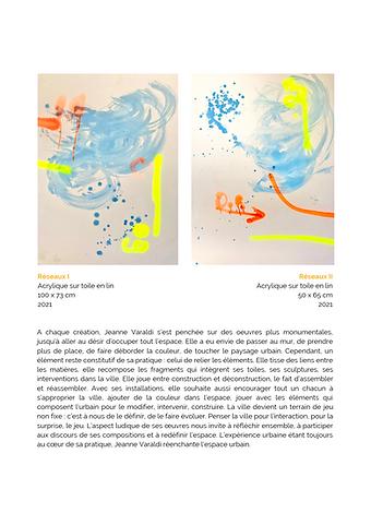 Catalogue Frontières, Jeanne Varaldi