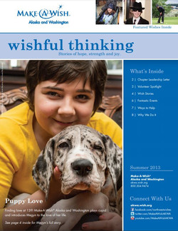 Make-A-Wish newsletter