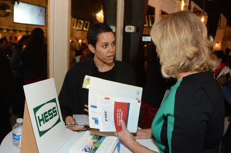 Business Connect vendor taking advantage of Houston Networking Event