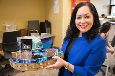 Business Connect Vendor & Owner of Luv A Foodie, Michelle Mazzara