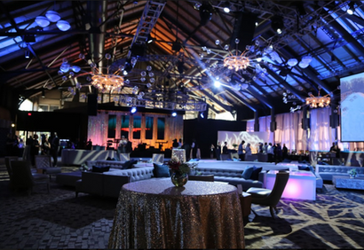 Before the curtain rises - Super Bowl LII Business Connect Event