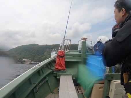 ボート作業