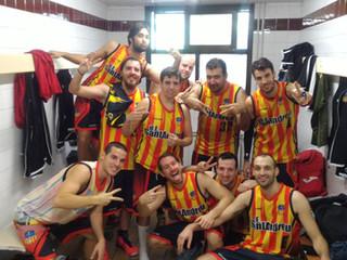 Sènior B Masculí: Crònica U.E.Sant Andreu B - Castelao Webs Casino del Centre (65-61)