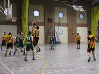 Sènior C Masculí: Crònica U.E. Sant Andreu C – C.E. La Marina (50-77)