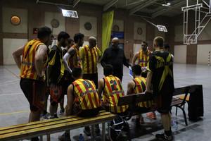 Sènior Masculí: U.E. Sant Andreu A – Club Basket Coll (65-73)