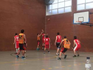 Crònica Sènior B Masculí: U. E. Sant Andreu B – S.E. SANT MEDIR B (49-57)