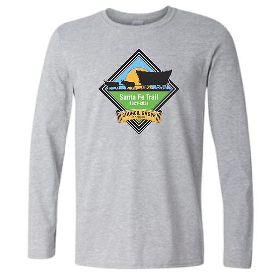 Council Grove SFT200 Long Sleeve Sport Grey T-Shirt