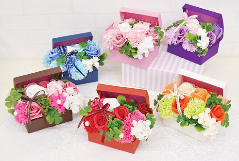 大阪 堺 花屋 ソープフラワー フレグランスフラワー アレンジメント 誕生日 記念日 成人式 母の日
