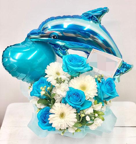 大阪 花屋 バルーン アレンジメント 開店祝 誕生日 記念日 母の日 周年