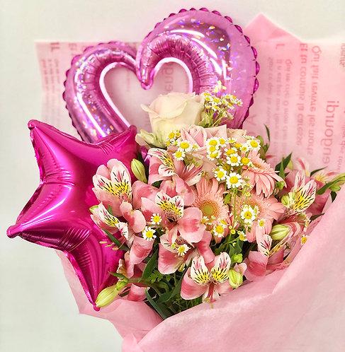バルーン 花束 ブーケ 誕生日 記念日 成人式 母の日