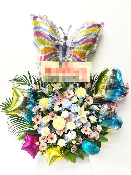 大阪 花屋 アレンジメント バルーン 開店祝 誕生日 記念日 母の日 周年