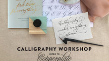 Intro to Copperplate Calligraphy Workshop