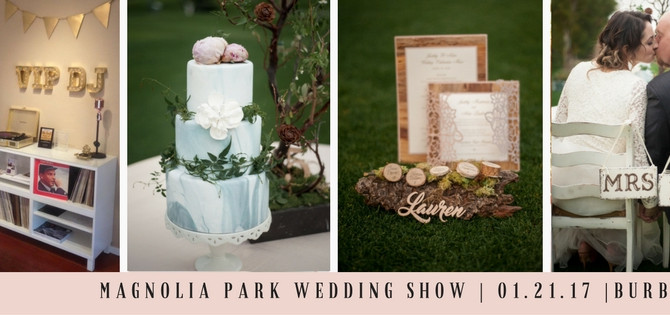 Join Us For A Personalized Wedding Show - January 21st