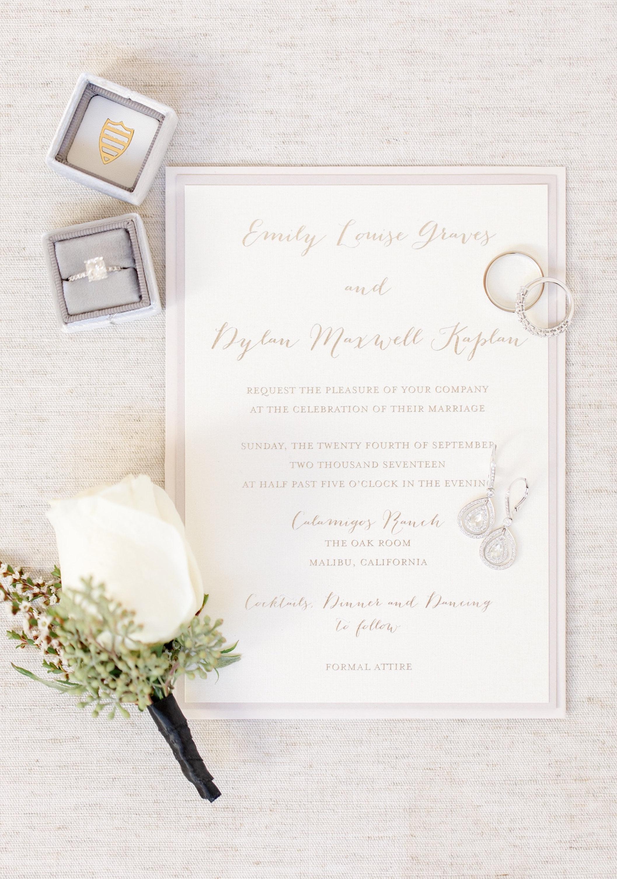 Custom Wedding Invitations Los Angeles & Burbank Occasion To Celebrate